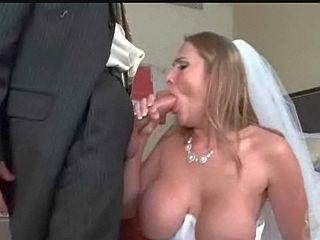 Future mariée nique avec son beau frère