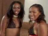 Des blackettes en lingerie coquine