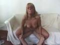 Blonde empallee