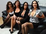 Entretien d'embauche qui tourne en orgie sexuelle