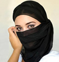 Jeune Femme arabe culbultee