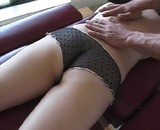 Jeune fille partouze chez son masseur