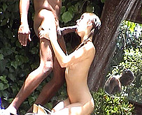 Katsuni se fait ramoner le cul par des blacks
