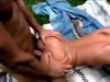 Seance de defonce anale pour une asiatique sur l herbe